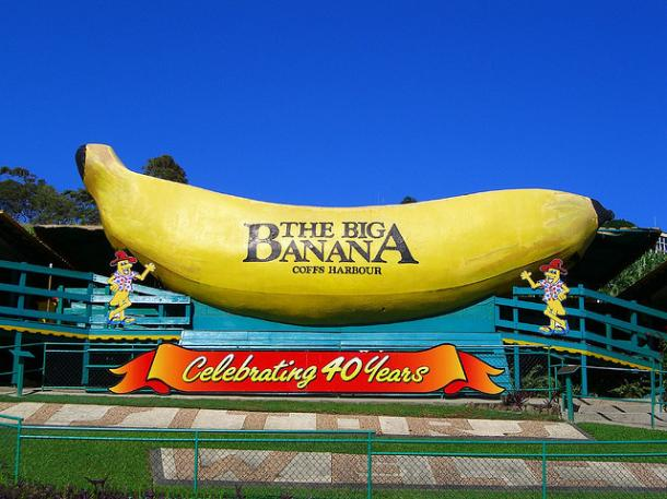 big banana attraction