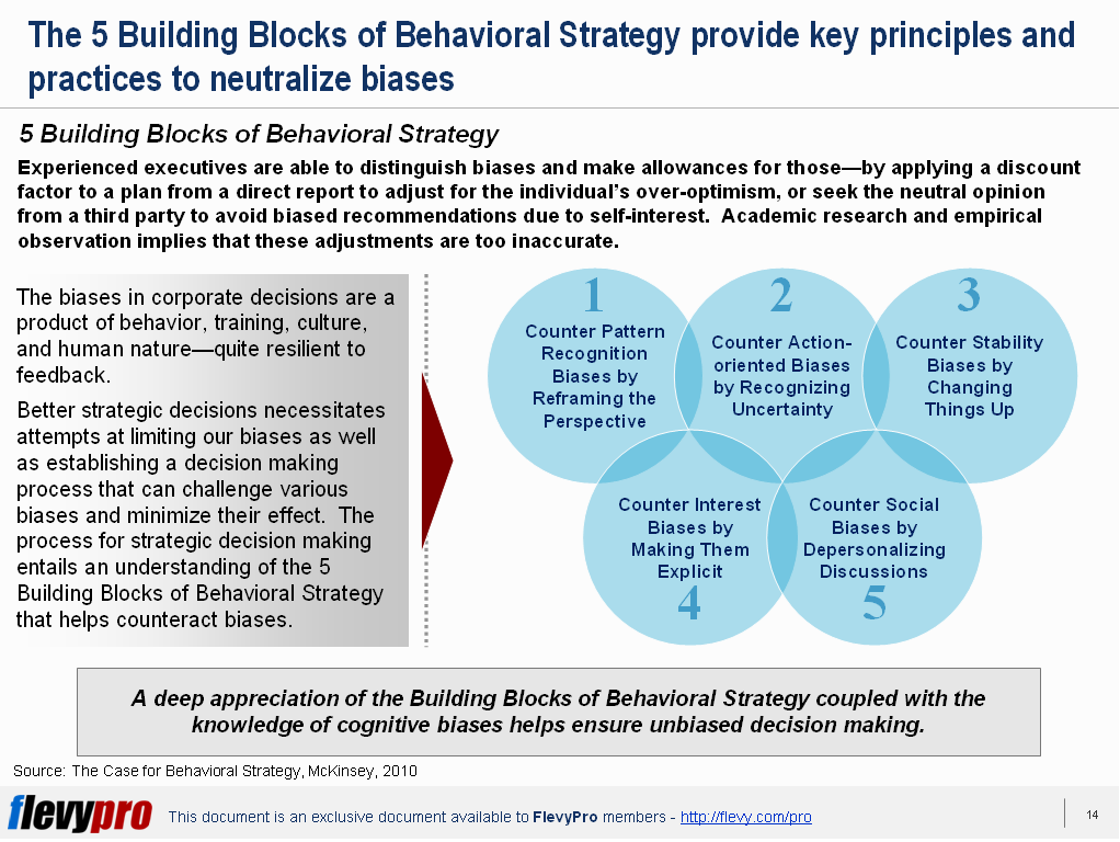 5 Building Blocks of Behavioral Strategy