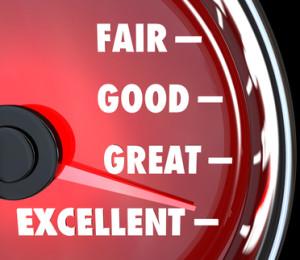 Good Great Excellent Speedometer Improvement