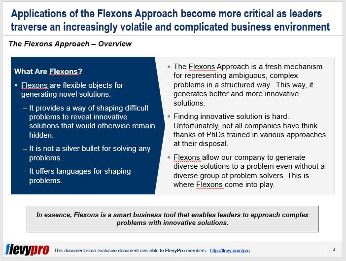 slide 1 of flexons first slide