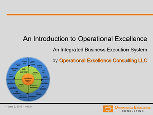 introduction to operational excellence master the 4 building